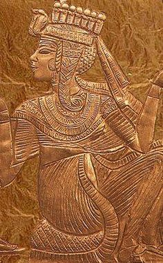 Ankhesenamun,King Tutankhamun's wife.