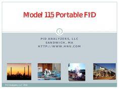 Model 115 portable fid presentation 812