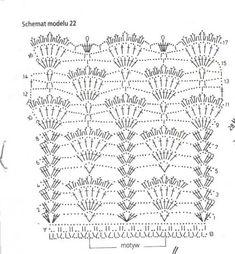 crochet curtain - free pattern