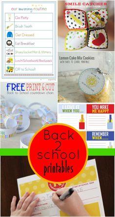 Utah Sweet Savings: The BEST Back to School Printables