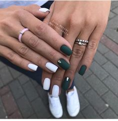 120 trending early spring nails art designs and colors 2019 page 06 - Alexandra . - 120 trending early spring nails art designs and colors 2019 page 06 – Alexandra Aceves – - Spring Nail Art, Spring Nails, Summer Nails, Fall Nails, Hair And Nails, My Nails, Nagellack Design, Luxury Nails, Christmas Nails