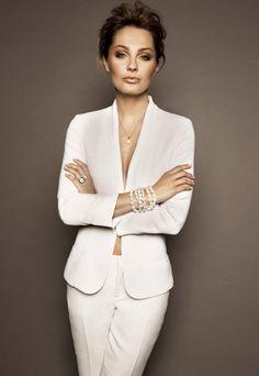 Malgorzata Socha for Tous Polska (beautiful polski lady! Polish Girls, Fashion Outfits, Womens Fashion, Beautiful People, Blazer, Actresses, Pure Products, Elegant, Lady