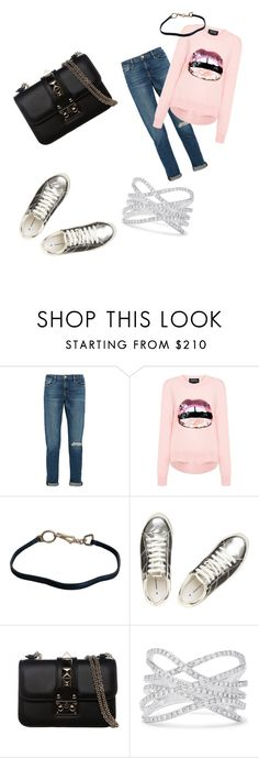 """""""Untitled #218"""" by shanimw ❤ liked on Polyvore featuring Frame Denim, Markus Lupfer, Prada, Dorothy Perkins, Valentino and Effy Jewelry"""