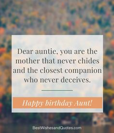 Happy Birthday Dear Aunt Happy Birthday Aunt, Birthday Wishes, Messages, Sayings, Words, Special Birthday Wishes, Lyrics, Text Posts
