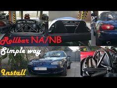 Easy way roll bar install Mazda Miata without removing roof Night Knight, Mazda Miata, Knights, Youtube, Knight, Youtubers, Youtube Movies