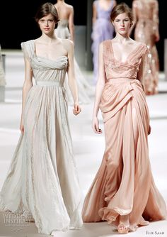 Elie Saab 2011 haute couture collection - bridal gown inspiration from the runway