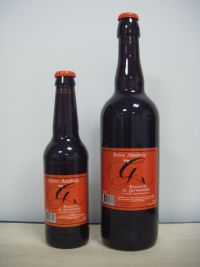 Bière Ambrée   Brasserie La Germanoise