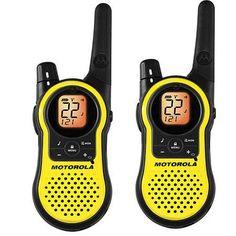 Motorola MH230R Talkabout Two-Way Walkie Talkie Rechargeable Radio Set, 23 Miles Range