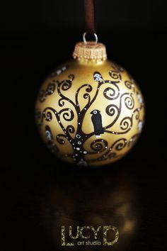 Hey, I found this really awesome Etsy listing at https://www.etsy.com/listing/200888155/christmas-ornament-klimt