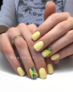 Looking for some pretty nail acrylic art designs? If you want to find a new look in this season, then try some acrylic nails. Acrylic nails ar… in 202 Manicure Nail Designs, Acrylic Nail Designs, Nail Manicure, Nail Art Designs, Acrylic Art, Acrylic Nails, Gelish Nails, Yellow Nails Design, Yellow Nail Art
