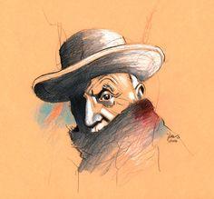 Retrato Picasso by José Lázaro