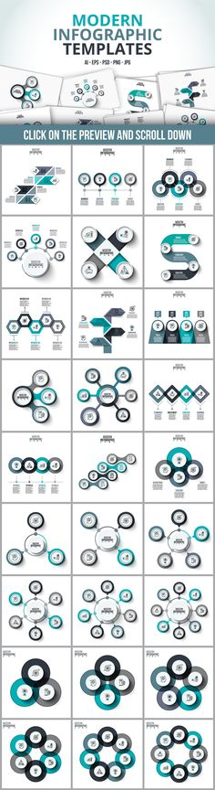 Infographic templates bundle by Abert