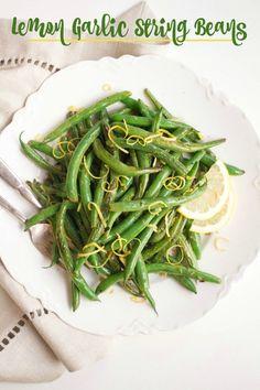 lemon-garlic-string-beans