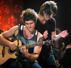 Zack Merrick and Alex Gaskarth