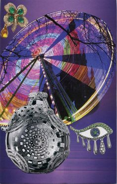 Wheel of Fortune Soul Collage card by Heather