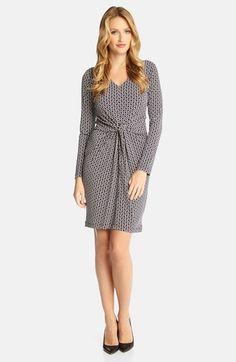 Karen Kane 'Tiffany' Broken Chain Print Dress | Nordstrom #Karen_Kane #Tiffany #Broken #Chain #Print #Dress #Nordstrom