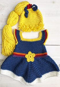 If you are an baby, I& sure you remember Rainbow Brite! My Rainbow Brite crochet dress pattern is written for sizes months and months. This adorable costume dress would be perfect for a baby& first Halloween! I hope you like it. Crochet Baby Props, Crochet Baby Costumes, Crochet Photo Props, Crochet Baby Clothes, Crochet For Kids, Free Crochet, Knit Crochet, Crochet Dresses, Crochet Baby Dress Free Pattern
