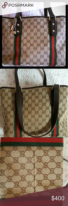 b9eedfbb65f4f9 Shop Women's Gucci Brown Tan size Totes at a discounted price at Poshmark.