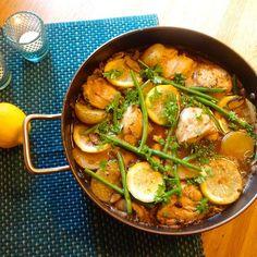 Edel's Mat & Vin : Sitronkylling med poteter ✿✿
