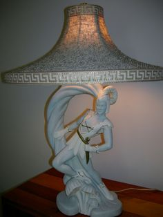 Vintage Pair of Continental Art Co Lamps Mid Century/Hollywood Regency