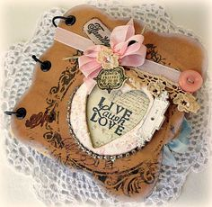 Creating from the Heart: ♥ Simon Says... Anything Goes! ♥ {A Shabby Little Album}