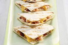 Quesadillas de pavo
