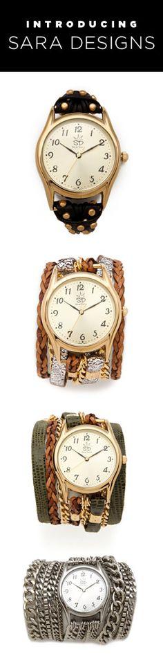 Sara Designs Watches