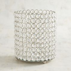 Crystal Hurricane Candle Holder