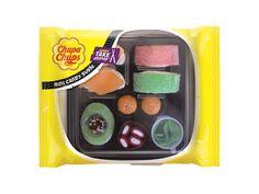 Chupa chups lanza un nuevo y divertido estuche de gominolas, 'Sushi Candy Take Away', con la imagen de una bandeja de sushi.