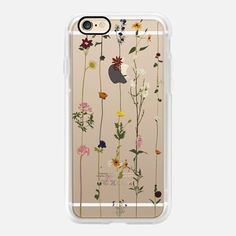 Casetify iPhone 7 Case and Other iPhone Covers - Floral wallroll by Crumpetsandcrabsticks AKA Vicky Webb | #Casetify