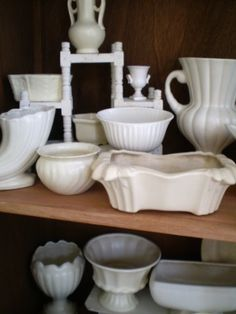 Beautiful white pottery...