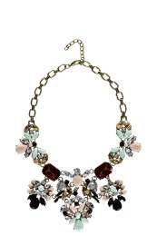 Penny Floral Statement Necklace alternative image