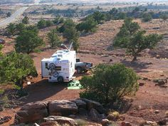 You don't need a campground or RV park to use your RV. Try these tips to go RV boondocking, which is simply camping off the beaten path without hook-ups.