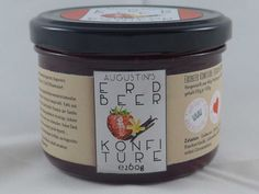 Erdbeer Konfitüre mit Bourbon-Vanille