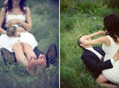Modern whimsical/natural wedding photos vs. traditional shots. Which do you prefer, ladies? #wedding #bridetobe