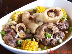 Hot Bulalo! I love the bone marrow!