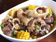 Hot Bulalo! I love the bone marrow!