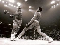 Muhammad Ali vs Joe Frazier  Muhammad Ali grew up in Louisville and learned his boxing skills here.