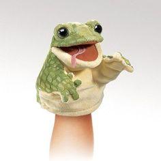 Folkmanis Little Frog Little Puppet - 2965