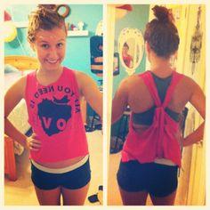 Cut a tshirt #diy