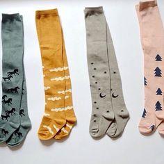 SALE Trendy Design Baby Tights / Baby Leggings / by MaceyandCo