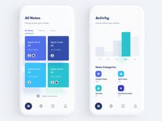 Fitness & Sports Activity - Mobile Application UI by Ali Sayed for UnoPie on Dribbble
