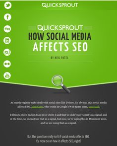 Free PDF download, learn how social media affects SEO.