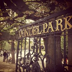 Vondelpark #Amsterdam #Holland #Netherlands I used to walk through the park every day - one of my favorite places