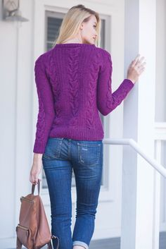Andrea Sanchez, Glasgow Sweater, knit sweater pattern from Interweave Knits Winter 2016