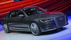 Audi has added to its e-tron series of electric and hybrid concept cars with the unveiling of the first luxury-class e-tron car, the A6 L e-tron concept.