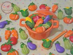 Legumes / Vegetables Porcelana fria / Cold porcelain