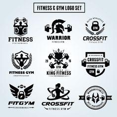 Fitness Logo Set @creativework247