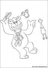 the muppets coloring pages on coloring bookinfo - Coloring Pages Coloring Book Info