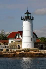 Portsmouth Harbor Lighthouse, Portsmouth, New Hampshire. It is beautiful if seen by boat. If seen by land you have to walk a painted line because the Coast Guard uses the keepers house & the lighthouse is off limits except for special events only.